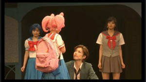 Sailor Moon Petite Étrangère musical - Chibiusa says goodbye to Mamoru