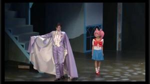 Sailor Moon Petite Étrangère musical - King Endymion with Chibiusa