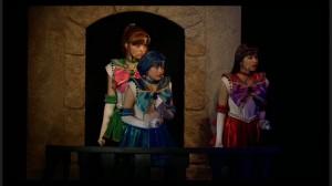 Sailor Moon Petite Étrangère musical - Sailor Jupiter, Mercury and Mars