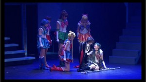 Sailor Moon Petite Étrangère musical - Sailor Pluto dying