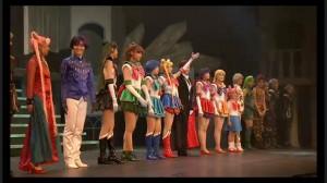 Sailor Moon Petite Étrangère musical - Cast
