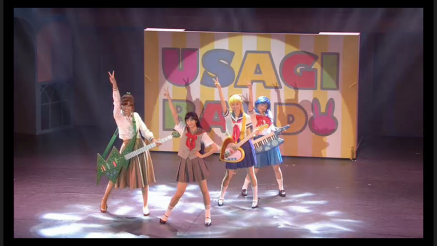 Sailor Moon Petite Étrangère musical - Usagi Band