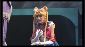 Sailor Moon Petite Étrangère musical - Sailor Moon surprised that Chibiusa is her daughter