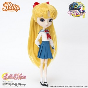 Sailor Venus Pullip doll - Minako's school uniform
