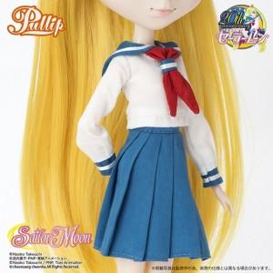 Sailor Venus Pullip doll - Minako's school uniform