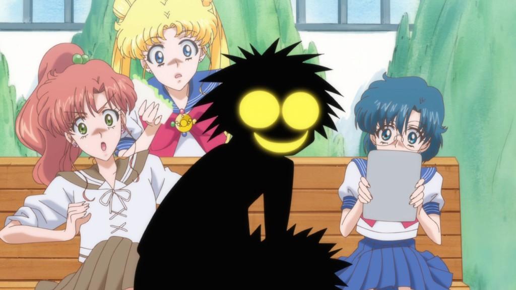 Sailor Moon Crystal Act 7 - Creepy Umino looks like a heartless