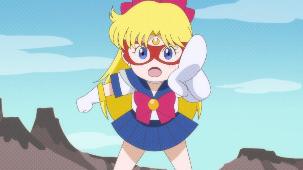 Sailor Moon Crystal Act 7 - The Sailor V game talking to Usagi