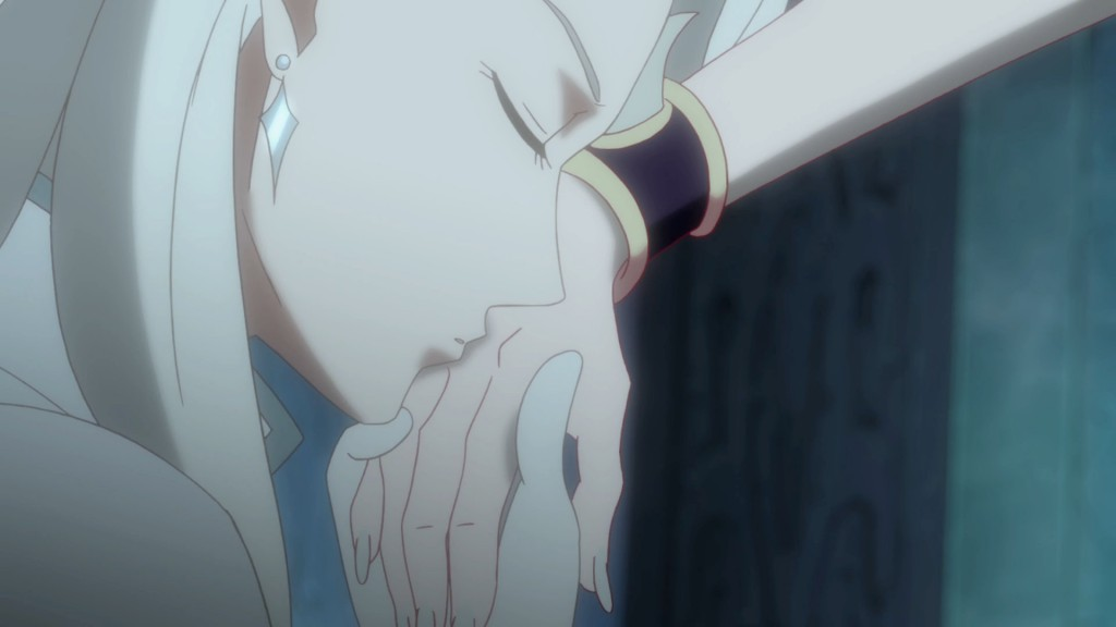 Sailor Moon Crystal Act 8 - Kunzite kissing Beryl