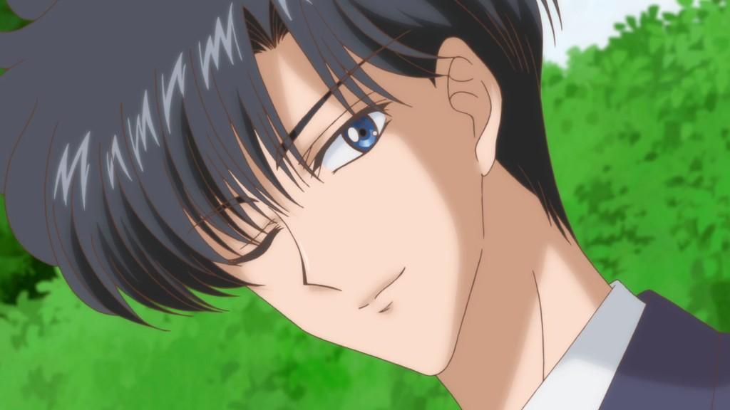 Sailor Moon Crystal Act 8 - Mamoru winking