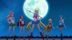 Sailor Moon Crystal Act 8 - The Sailor Team
