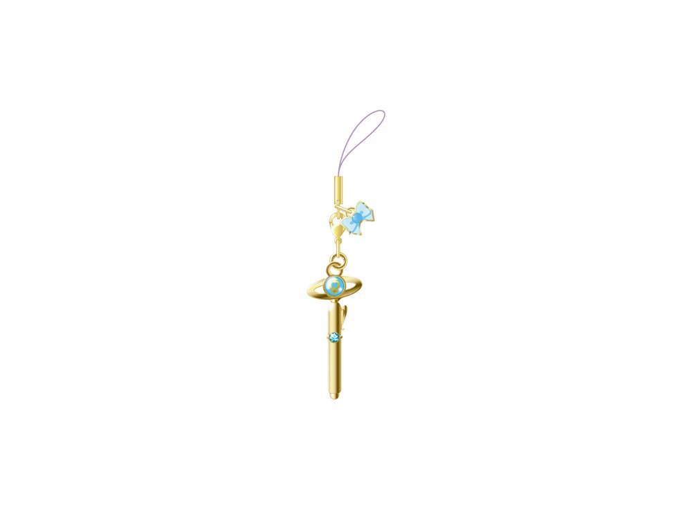 Sailor Moon Crystal Blu-Ray vol. 2 Deluxe Limited Edition box - Sailor Mercury's transformation item charm