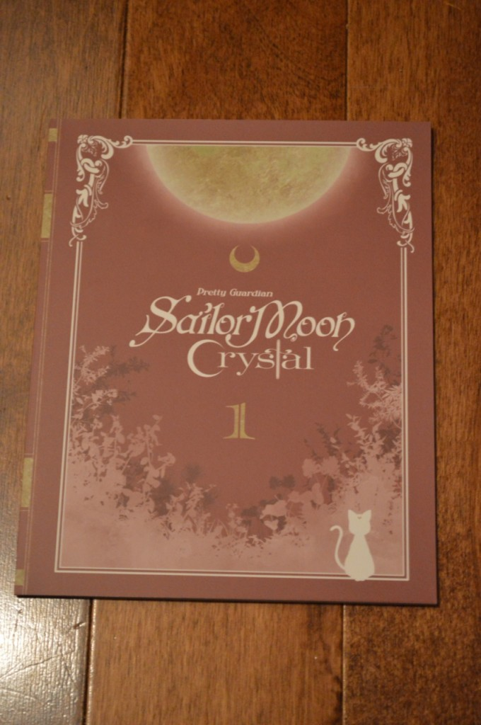 Sailor Moon Crystal Deluxe Limited Edition Blu-Ray vol. 1 - Booklet cover