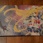Sailor Moon Crystal Deluxe Limited Edition Blu-Ray vol. 1 - Disc box