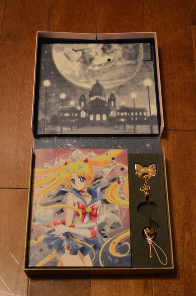 Sailor Moon Crystal Deluxe Limited Edition Blu-Ray vol. 1