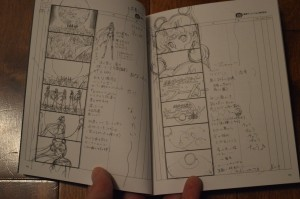 Sailor Moon Crystal Deluxe Limited Edition Blu-Ray vol. 1 - Opening storyboards