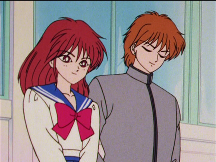 Sailor Moon episode 47 - Natsumi and Seijuurou