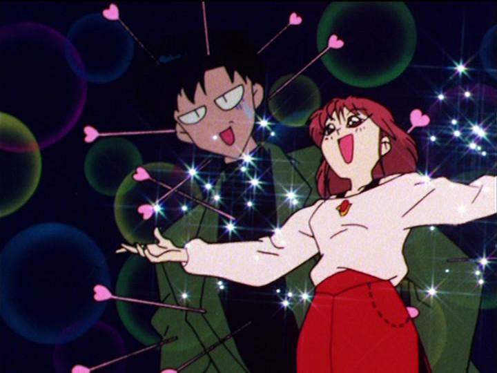 Sailor Moon episode 48 - Natsumi loves Mamoru