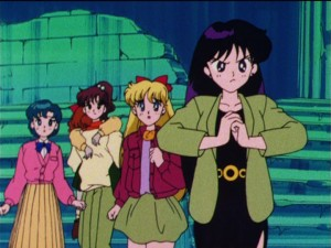 Sailor Moon episode 48 - Rei is ready for a fight