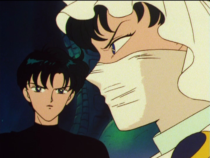 Sailor Moon episode 50 - Mamoru and the Moonlight Knight