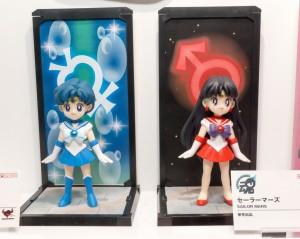 Sailor Moon Tamashii Buddies - Sailor Mercury and Sailor Mars