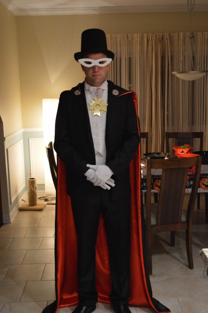 Adam as Tuxedo Mask