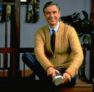 Mr. Rogers sweater