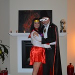 Sailor Mars and Tuxedo Mask
