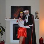 Sailor Mars and Tuxedo Mask