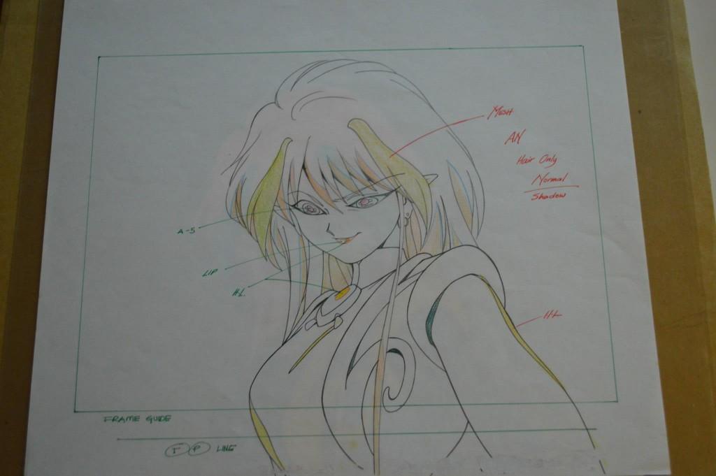 Sailor Moon Cel - An - Pencil