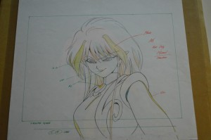 Sailor Moon Cel - An - Pencil