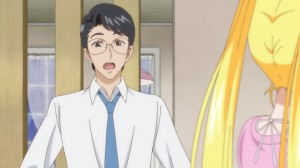 "Sailor Moon Crystal Act 10 - Kenji Papa's classic ""upset that Usagi has a boyfriend"" face"