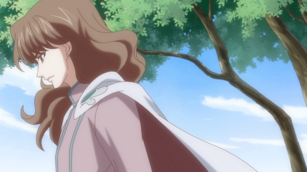 Sailor Moon Crystal Act 10 - Nephrite with a cape