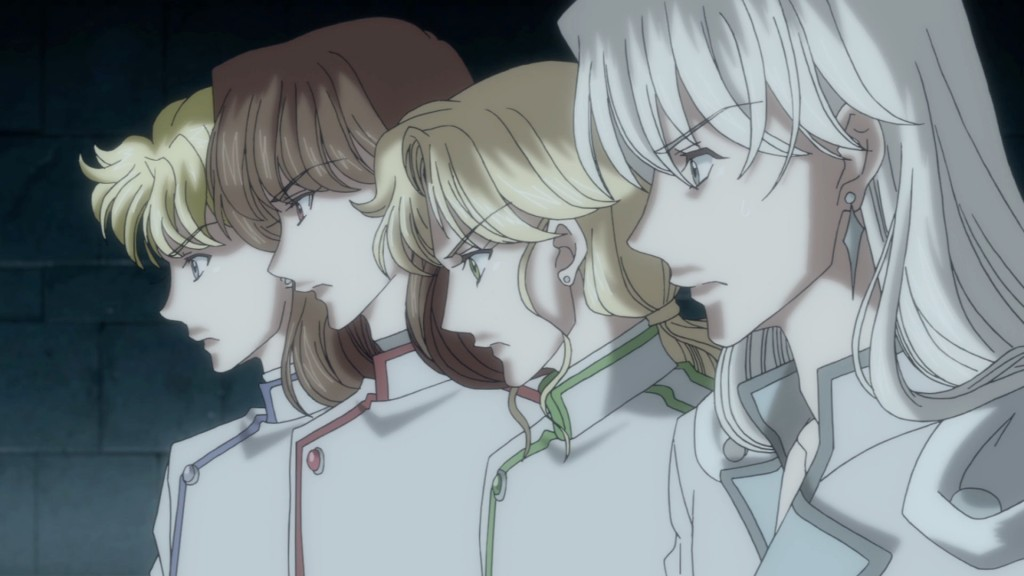 Sailor Moon Crystal Act 9 - Jadeite, Nephrite, Zoisite and Kunzite