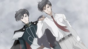 Sailor Moon Crystal Act 9 - Mamoru Chiba and Prince Endymion