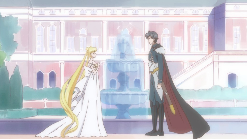 Sailor Moon Crystal Act 9 - Princess Serenity and Prince Endymion