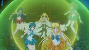 Sailor Moon Crystal Act 9 - The Sailor Guardians protect Princess Serenity and Tuxedo Mask