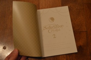 Sailor Moon Crystal Deluxe Limited Edition Blu-Ray vol. 2 - Book - Inside cover