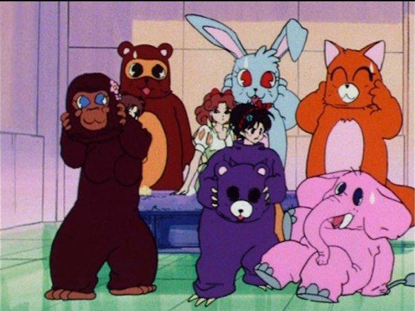 Sailor Moon R episode 56 - Fur suits