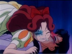 Sailor Moon R episode 56 - Natsumi and Mamoru