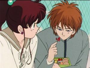 Sailor Moon R episode 55 - Makoto and Seijirou
