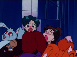 Sailor Moon R episode 56 - Fur pile