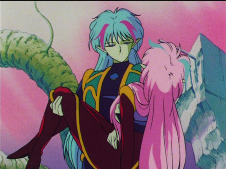 Sailor Moon R episode 59 - Ail and An