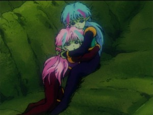 Sailor  Moon R episode 59 - Ail and An as children