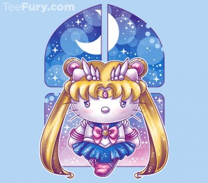 Hello Senshi t-shirt at TeeFury
