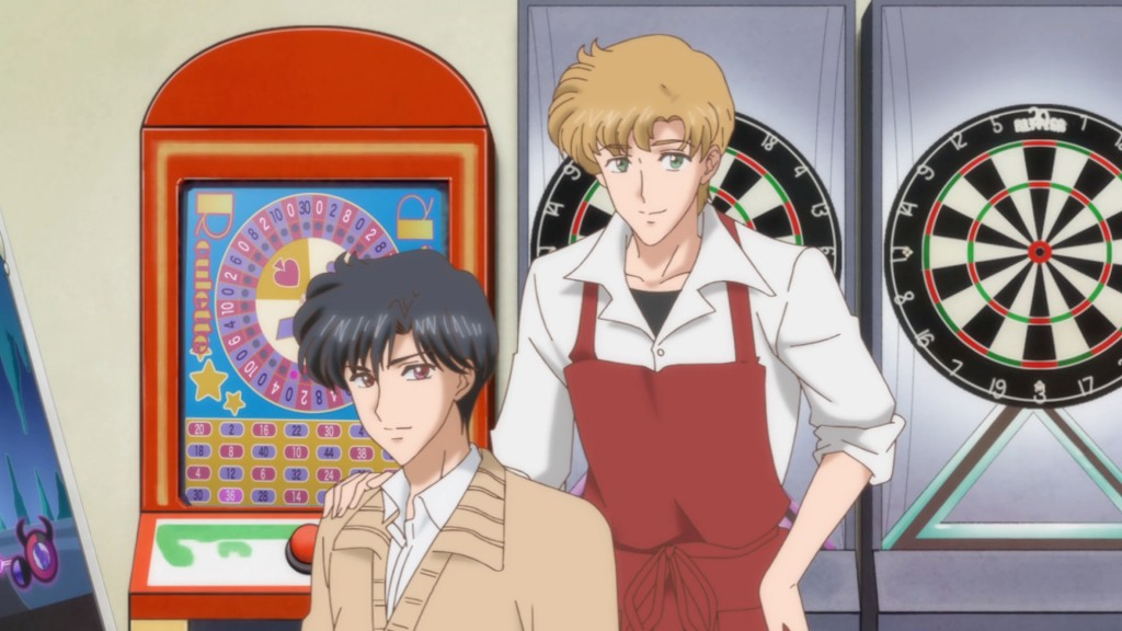 Sailor Moon Crystal Act 11 - Endo and Mamoru are good friends