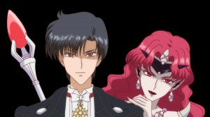 Sailor Moon Crystal Act 12 Preview - Evil Tuxedo Mask and Queen Beryl