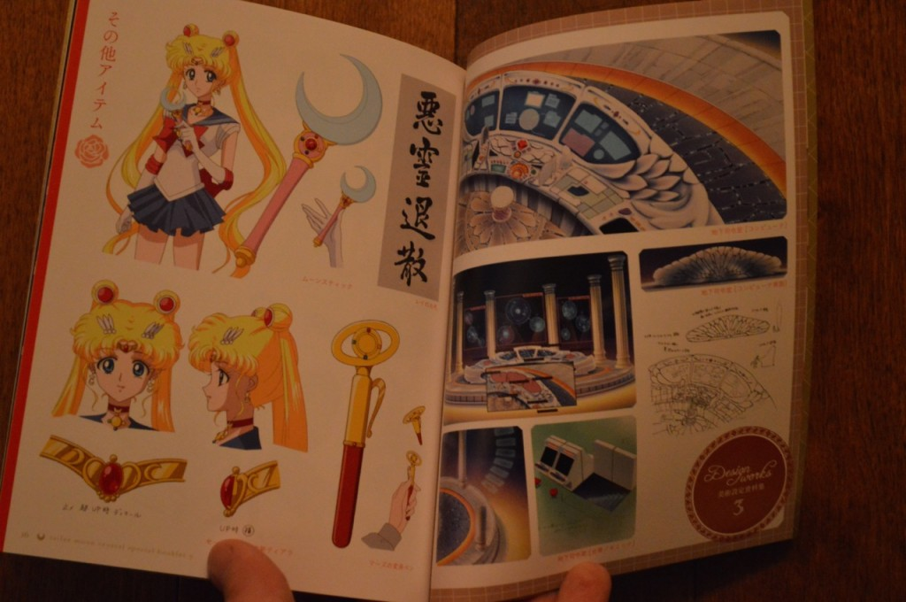 Sailor Moon Crystal Blu-Ray vol. 3 Deluxe Edition - Booklet -