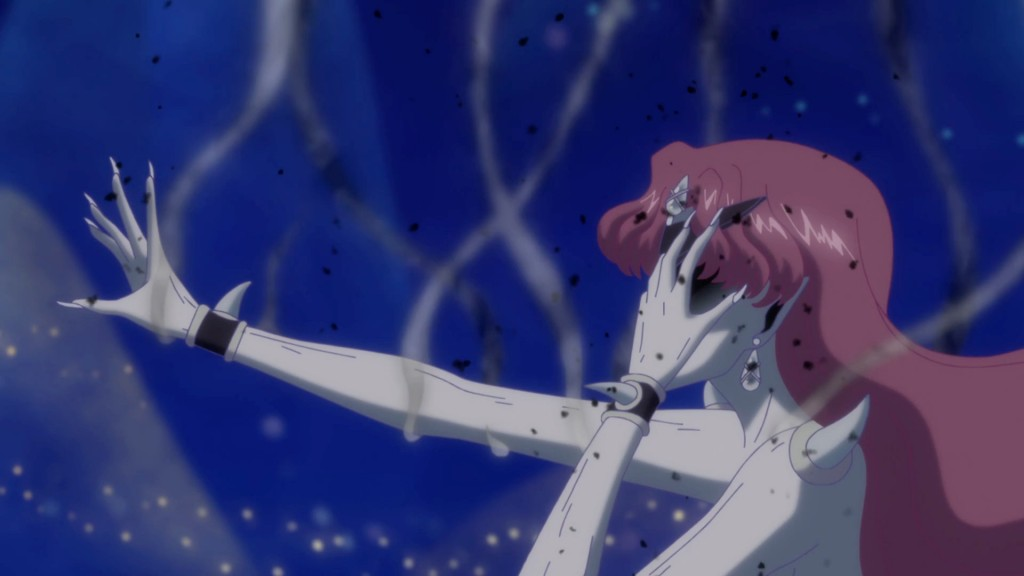 Sailor Moon Crystal Act 12 - Queen Beryl dying