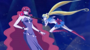 Sailor Moon Crystal Act 12 - Sailor Moon killing Queen Beryl
