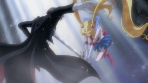 Sailor Moon Crystal Act 12 - Sailor Moon killing Tuxedo Mask